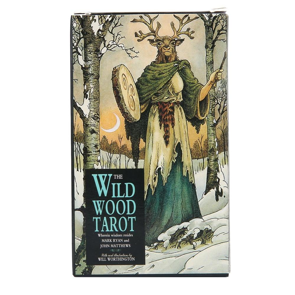 Magic Wild Wood Tarot Read Fate Tarot Card Game For Personal Use Board Game A 78-card Deck