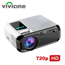 VIVICINE Newest 720p Portable LED Projector,Option Android Handheld HDMI USB Home Theater Video Game Handheld Projector Beamer(China)