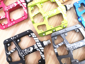 Image 4 - 2019New Ultra light and ultra thin 3 Bearings Pedals Aluminum alloy Mountain Bike MTB Anodizing Bicycle Pedal Road Bike Pedals