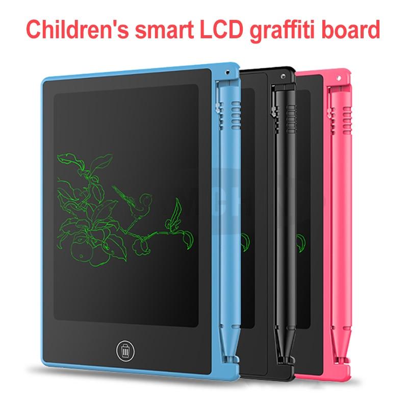 LED Digital Board 4.5 Inch Notepad Digital LCD Graphic Board Handwriting Bulletin Board For Children Kids Writing Drawing Tablet