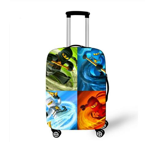 18''-32'' Ninja Elastic Luggage Protective Cover Trolley Suitcase Dust Bag Case Cartoon Travel Accessories