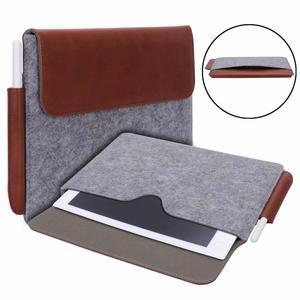 """Image 4 - Tablet kol çantası kılıf kılıfı için olağanüstü 10.3 e okuyucu moda çanta yün keçe kol çantası dikkat çekici 10.3 """"Funda + kalem"""