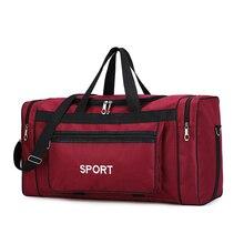 Grande Capacità di Borse Da Palestra di Sport Degli Uomini di Forma Fisica Gadget di Yoga in Palestra Sacco Mochila Palestra Pack per la Formazione di Viaggio Sporttas Sportbag Duffle borse