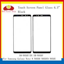 10 ピース/ロットタッチスクリーン三星銀河注 8 Note8 N9500 N950FD N950U タッチパネルフロントアウターレンズ注 8 液晶ガラスレンズ