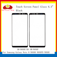цена на 10Pcs/lot Touch Screen For Samsung Galaxy Note 8 Note8 N9500 N950FD N950U Touch Panel Front Outer Lens Note 8 LCD Glass Lens