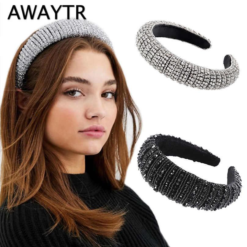 New Rhinestone Silver Hair Band Headband Jewellery Girls Women/'s Accessories