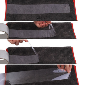 Image 4 - 車のクリーニングタオル1200GSM車ディテール40*40/60*90センチメートルマイクロファイバー乾燥タオル自動研磨ツール洗車布アクセサリー