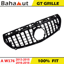 Front-Racing-Grills Grille Diamond Class-W176 Mercedes-Benz A180 for Amg Car-Styling