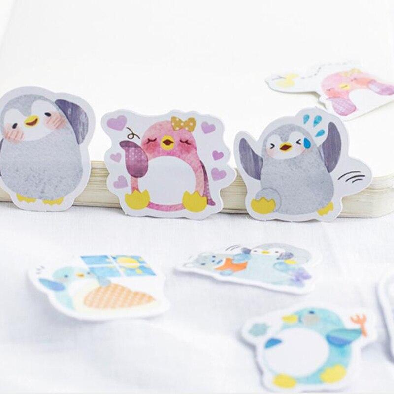 Милое украшение дневника Скрапбукинг Канцелярские наклейки для офиса животные Пингвин шаблон наклейки DIY ремесло украшения продукты