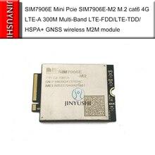 Simcom sim7906e 미니 pcie SIM7906E M2 m.2 cat6 4g LTE A 300 m 멀티 밴드 LTE FDD/LTE TDD/hspa + gnss 무선 m2m 모듈