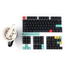 Cherry Prolife 130 Keys Full Sets Metropolitan Keycap PBT 5 Face DYE Sublimation For Mechanical Keyboard Cherry MX Kailh Gateron