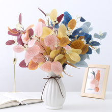 1 букет искусственная имитация цветов травы похожая на настоящую растения Цветочный Arrangemen диких сорняков орнамент Свадебная вечеринка при...