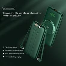 External-Battery-Charger Power-Bank Charging Xiaomi 20000mah Wireless for Huawei Mobile