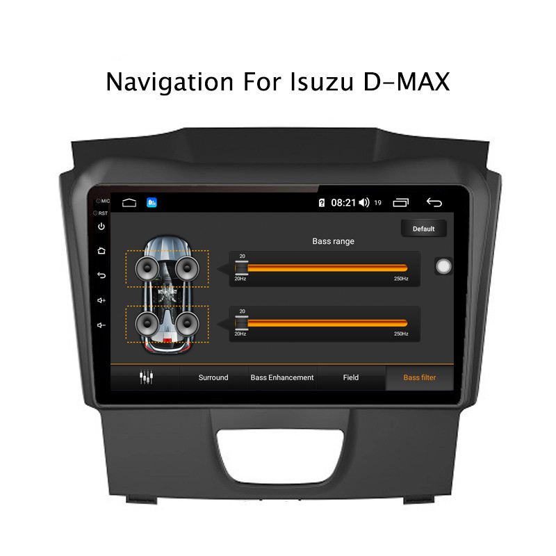 Flash Deal Ectwodvd 9inch Andriod 8.1 Car DVD GPS For Isuzu D-MAX DMAX 2015-2018 4G RAM 64G ROM CarPlay DSP 4G LTE with WIFI 6