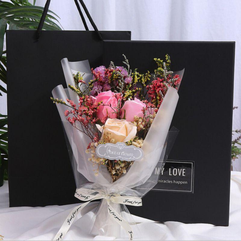 Soap Flower Starry Gift Box Home Garden Festive Party Supplies Artificial Decorations Artificial Flowers Handmade