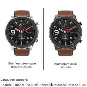 Image 4 - 2019 Смарт часы Amazfit GTR 47 мм с gps 5ATM Водонепроницаемость 24 дня Срок службы батареи 12 спортивный режим Bluetooth AMOLED экран