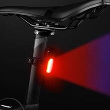 Линия безопасности хвост светильник ночной езды предупреждение горный велосипед хвост светильник