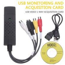 Usb 20 ТВ Видео Аудио vhs в dvd hdd конвертер карта захвата