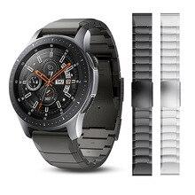 สายนาฬิกาสแตนเลสสำหรับ Samsung Galaxy 3 45มม./41มม.สร้อยข้อมือเปลี่ยนสายคล้องข้อมือสำหรับ Galaxy นาฬิกา46มม.เกียร์ S3