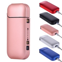 Fashion Black Color PC Case For IQOS For IQOS 2.4 Plus II III Electronic Cigarette For IQOS Full Protective Case