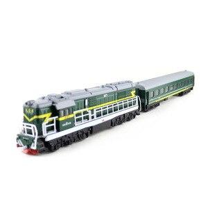 Image 4 - 1:50ダイキャストおもちゃモデル中国古典東風5271機関車古典的な音と光のおもちゃ送料無料