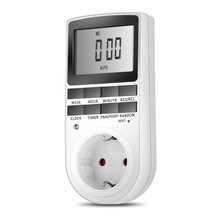 цена на Smart Digital Electronic Power Timer in Switch Socket Digital LCD Power Energy-saving Programmable Time Switch Drop Shipping