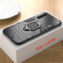 Luxury Magnetic Shockproof Car Ring Case On The For Xiaomi Redmi Note 7 6 Pro 5 4X 6X A2 5X A1 Silicone