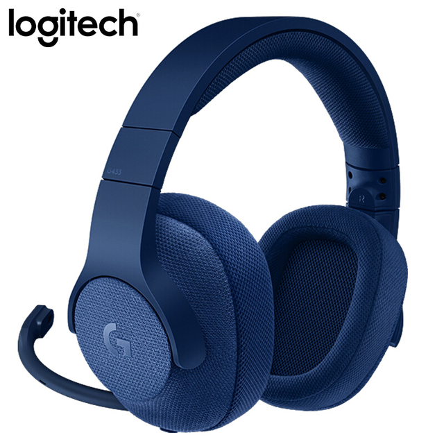 Logitech G433 SURROUND GAMING HEADSET 7.1 3D POSITIONAL AUDIO Surround for All Gamer Wired Headsets with MIC for PC PS4 Xbox VR 2