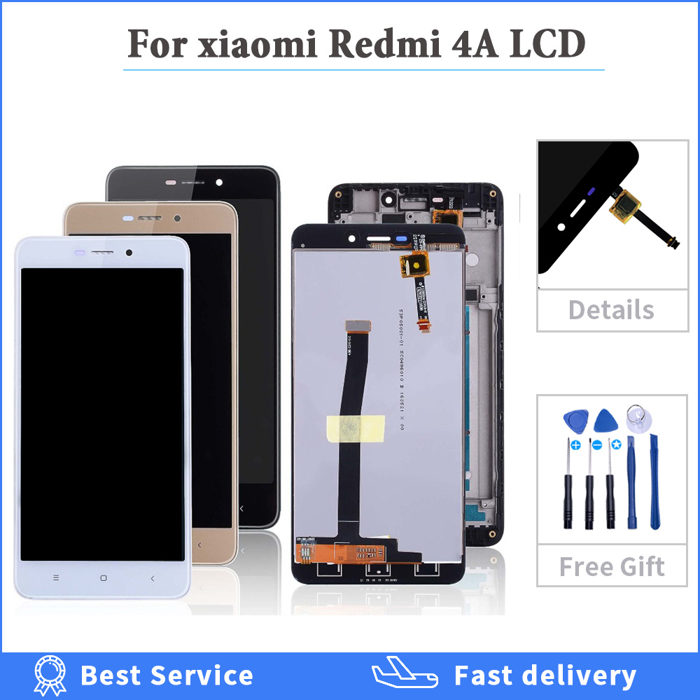 Original-Display Touch-Screen Xiaomi Redmi Assembly Digitizer Frame Replacement for 4A title=