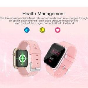 Image 5 - Greentiger P9 חכם שעון מלא מגע Custom חיוג משחק קצב לב לחץ דם חמצן צג IP67 עמיד למים Smartwatch PK P8
