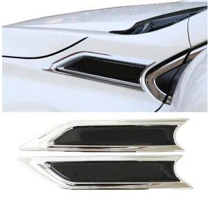 Автомобильный стиль хром Передняя Боковая Крышка эмблема планки для 2017 2018 Honda CRV 3D стикер моделирование