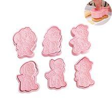 Ensemble de moules à biscuits, Emporte-pièce, pour biscuits, outils de décoration, 6 pièces