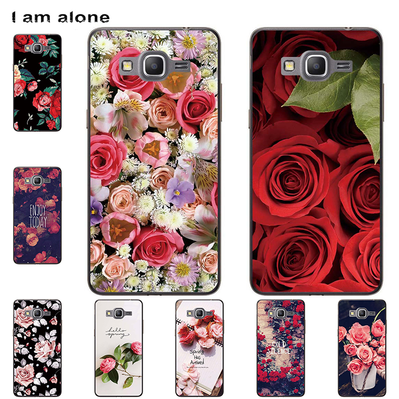 Phone <font><b>Cases</b></font> For <font><b>Samsung</b></font> <font><b>Galaxy</b></font> <font><b>Grand</b></font> <font><b>Prime</b></font> G530 <font><b>G530H</b></font> 5.0 inch Hard Plastic Mobile Bags Cartoon Printed Cover Free Shipping image
