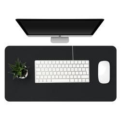 1200*600mm Large Office Computer Desk Mat Double sized PU Leather Clipboard Table Keyboard Pad Laptop Full Desk Pad