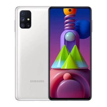 Перейти на Алиэкспресс и купить Samsung Galaxy M51 6 Гб/128 Гб белый (белый) с двумя SIM-картами M515F
