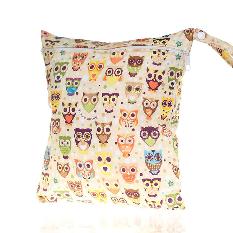 1PC Cute Wetbag Cartoon Wet Bag Waterproof Nappy Bags for Stroller Mother Mom Backpack Maternity Changing Diaper Bags Baby Care