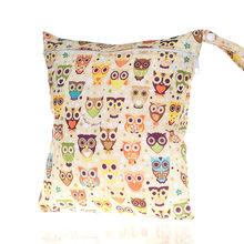 1PC Cute Wetbag Cartoon Wet Bag Waterproof Nappy Bags for Stroller Mother Mom Backpack Maternity Changing Diaper Bags Baby Care(China)