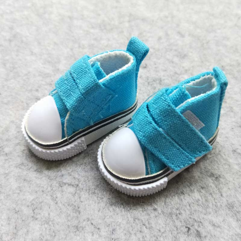 50 คู่/ล็อตขายส่งตุ๊กตาอุปกรณ์เสริมรองเท้าตุ๊กตา 1/6 BJD รองเท้า 5 ซม.-ใน อุปกรณ์เสริมตุ๊กตา จาก ของเล่นและงานอดิเรก บน   3