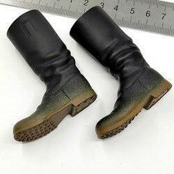 1/6 skala mężczyzna żołnierz buty WWII Hollow męskie buty Model dla 12in figurka Phicen JIAOUL lalki