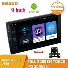 Multimedia-Player Car-Radio Android 9inch Bluetooth 2din Navigation Stereo Auto-Audio