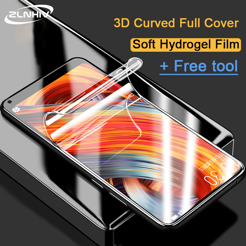 ZLNHIV soft full cover for <font><b>xiaomi</b></font> <font><b>mi</b></font> <font><b>mix</b></font> 2s <font><b>2</b></font> 3 hydrogel film <font><b>mi</b></font> max 3 max <font><b>2</b></font> protective film Not Glass phone <font><b>screen</b></font> <font><b>protector</b></font> image