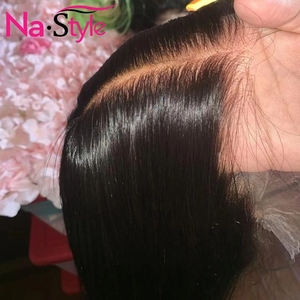 Image 1 - 13x4 Lace Front Human Hair Wigs For Black Women 250% Long Straight Human Hair Wig Pre Plucked With Baby Hair Natural Hairline