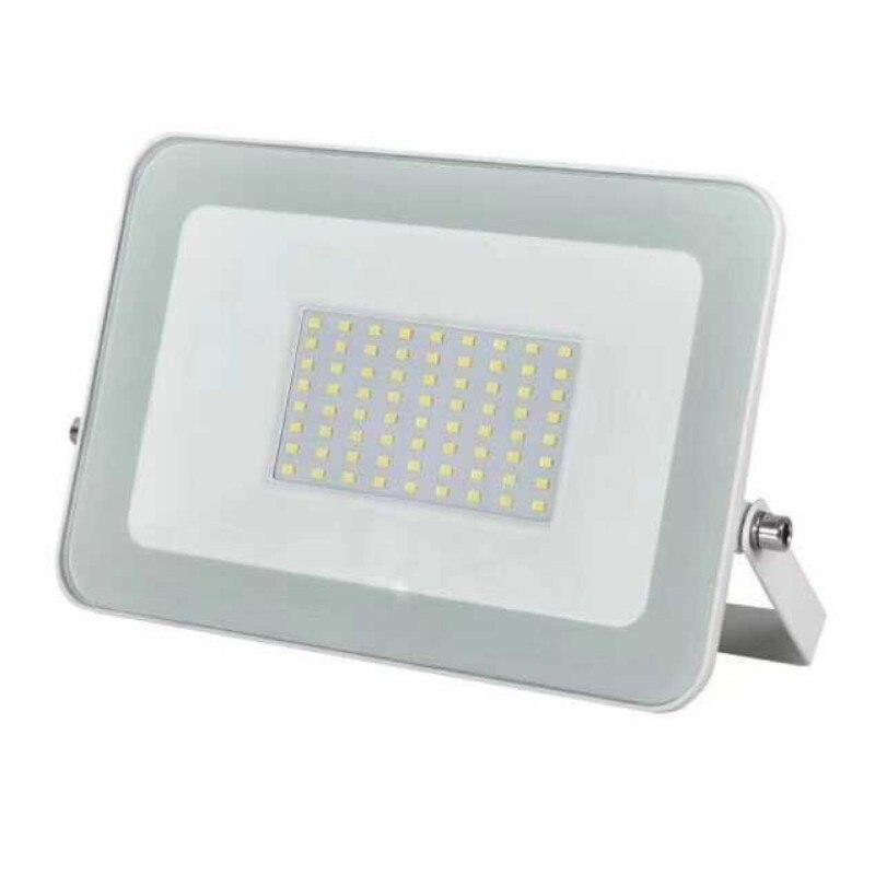 1pc melhor conduziu a luz de inundação 220 v ao ar livre holofote 10 w 20 30 50 100 lâmpada parede ip65 iluminação do jardim à prova dwaterproof água