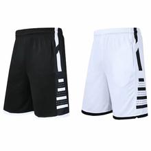 2020nowa męska odzież sportowa siłownia szorty do koszykówki męskie sportowe szorty do biegania szybkie suche sportowe kieszonkowe szorty treningowe koszulki treningowe tanie tanio CN (pochodzenie) Poliester
