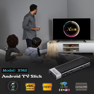 Image 3 - X96S TV Stick 4GB 32GB Amlogic S905Y2 Android 9.0 TV Box X96S Mini PC 5G WiFi Bluetooth 4.2 4K HD 1080P TV Dongle Media Player