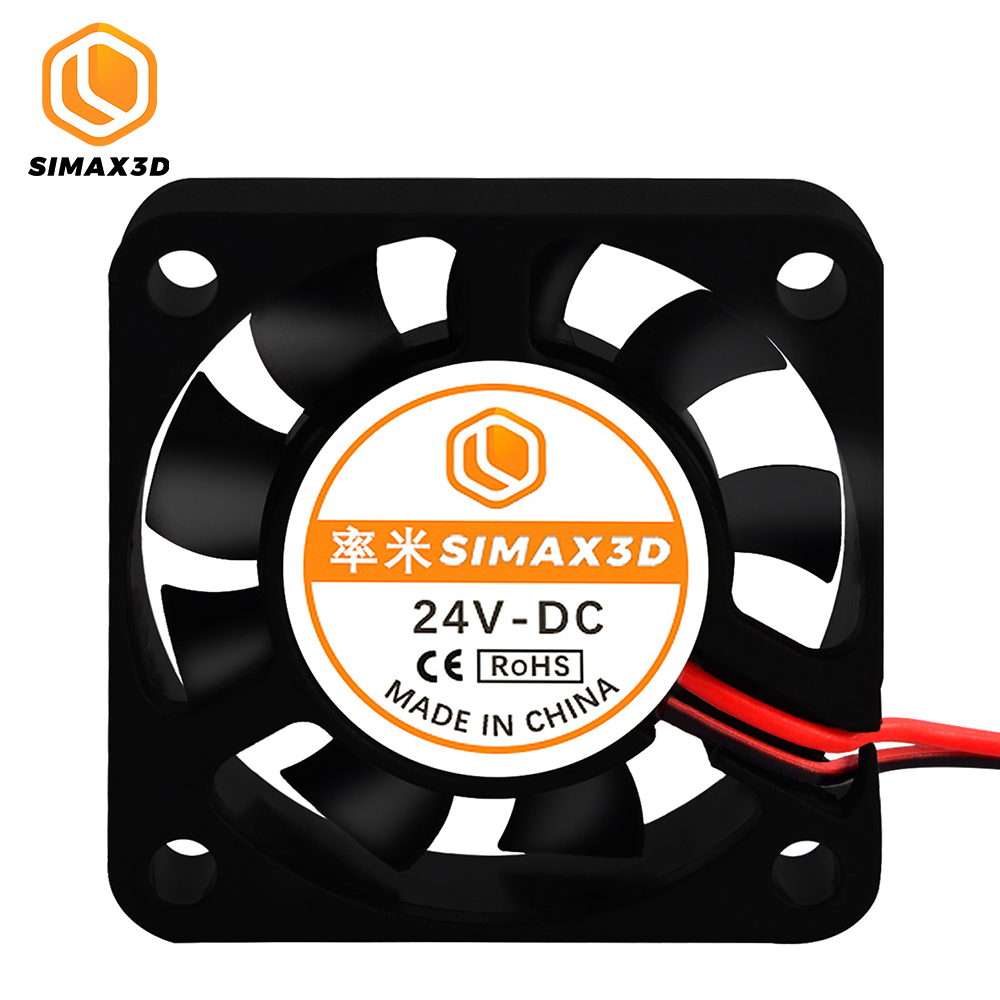 DC 24V Computer CPU Cooler <font><b>4010</b></font> Cooling Fan 40MM 40x40x10mm Exhaust Fan with 0.3/1M Cable <font><b>Blower</b></font> Fan for Ender 3 CR10 3D Printer image