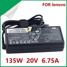 Original 135W 20V 6.75A Laptop AC Adapter Charger for Lenovo IdeaPad Y50 ADL135NDC3A 36200605 45N0361 45N0501 Y50 70 40 t540p