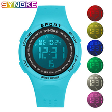 SYNOKE Boys Watches Digital Sport Wristwatch Colored