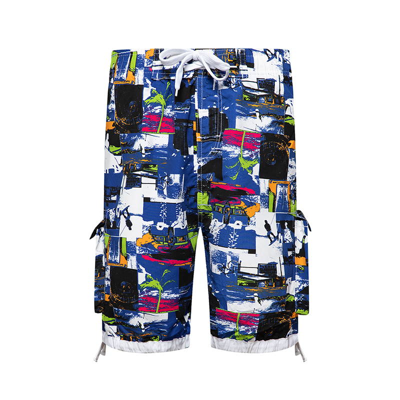 Short masculino 20 20Summer Shorts Men Beach Short Breathable Quick Dry Loose Casual Hawaii Vacation Printing Shorts Man image