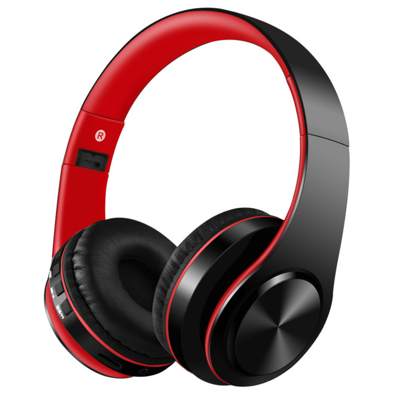 Wireless headphones Bluetooth headsets Stereo Music earphone Gaming Headphone Wired earbud Speaker Phone headset With Microphone